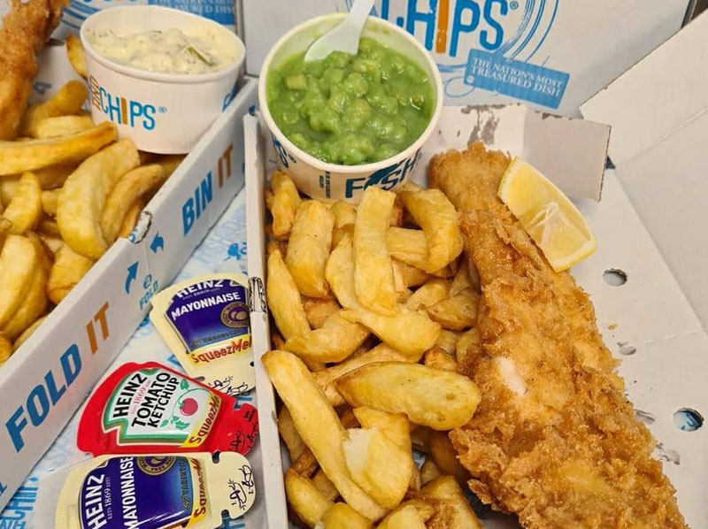 fish and chips East Grinstead